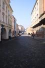 Pohled z náměstí k gymnáziu